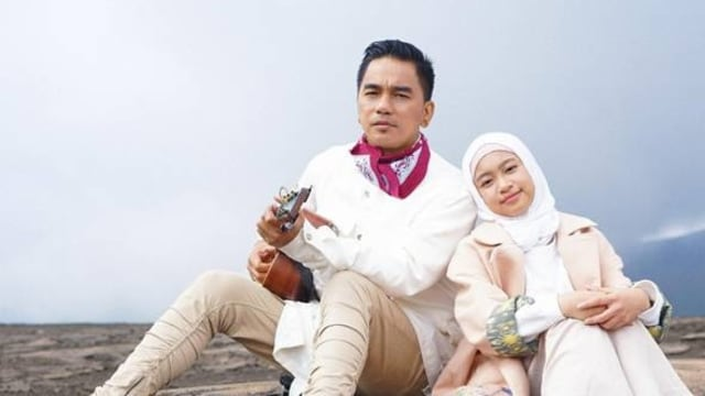 Enda 'Ungu' dan Zara Leola rilis single 'Surgamu'