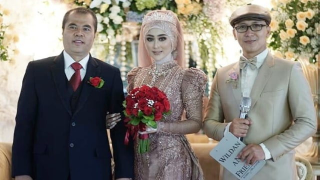 Mantan Bupati Garut, Aceng HM Fikri menikah