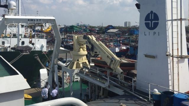 Pelabuhan Kapal Riset LIPI