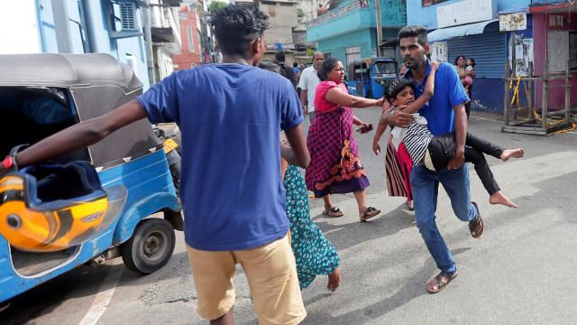Ledakan, Mobil, Sri Lanka, Warga Berhamburan keluar rumah