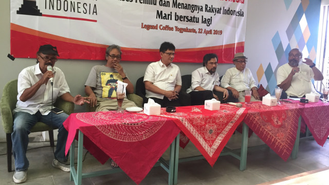 Suasana jumpa pers Alumni Jogja SATUkan Indonesia