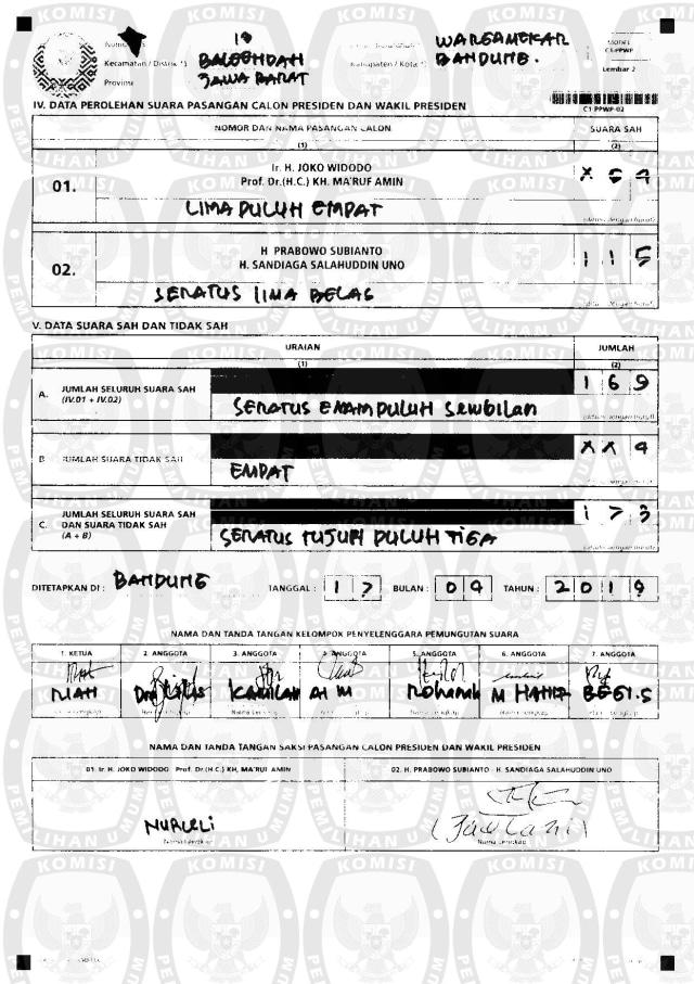 Polemik Salah Input Data C1 karena Human Error Petugas KPU (260585)