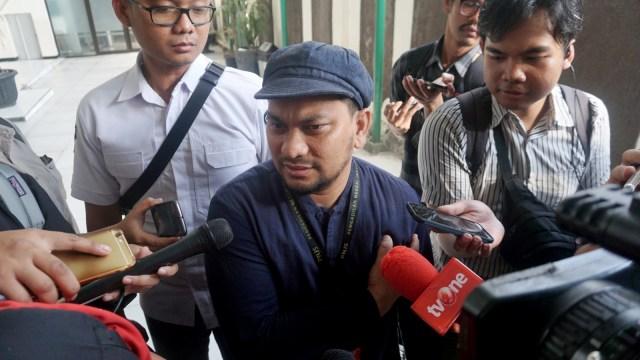 Tompi, saksi untuk sidang lanjutan Ratna Sarumpaet di PBJ Jakarta Selatan