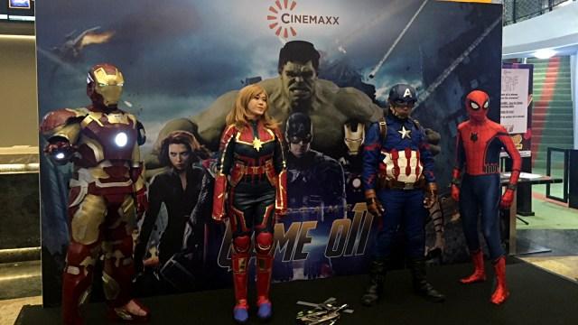 Suasana Pemutaran Perdana Avengers: Endgame