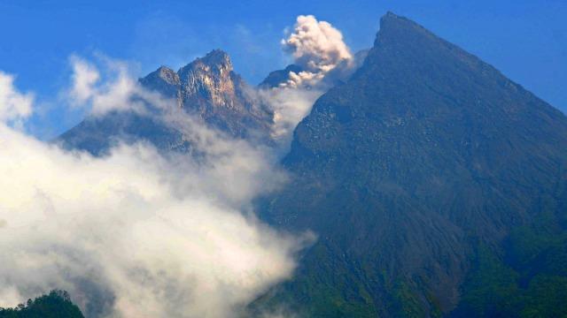 Aktivitas, Gunung Merapi, Jawa Tengah