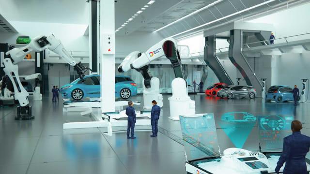 ywmc6h3tjmnq2favraib - Begini Tampilan Bengkel Mobil di Masa Depan Full Teknologi
