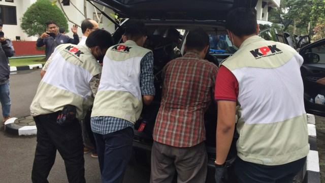 KPK menggeledah kantor Walikota Tasikmalaya
