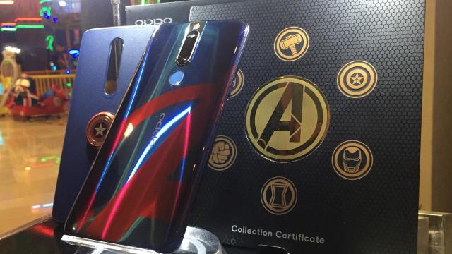 Oppo F11 Pro Edisi Avengers Resmi Dijual di Indonesia, Harganya? (116878)