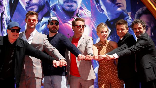 Para Pemain Film Avengers: Endgame Reuni di Kids' Choice Awards 2020 (508261)