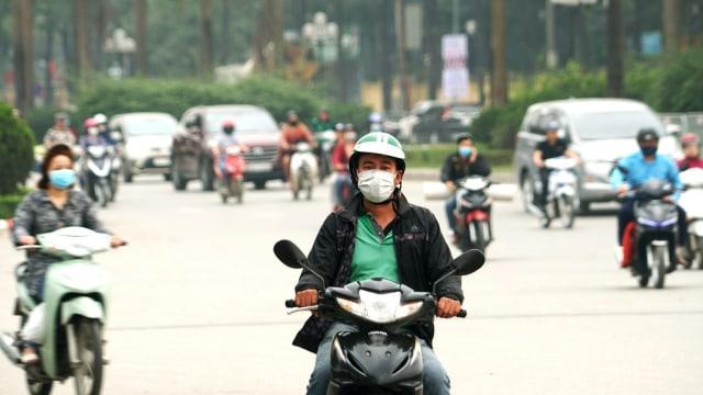 KONTEN SPESIAL, Polusi Udara Jakarta, Ilustrasi Pakai Masker