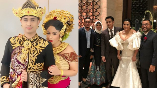 7 Momen Manis Pernikahan Ajun Perwira Dan Jennifer Jill Armand Kumparan Com