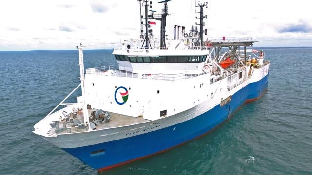 Elsa Regent kapal survei seismik berbendera Indonesia milik PT Elnusa Tbk