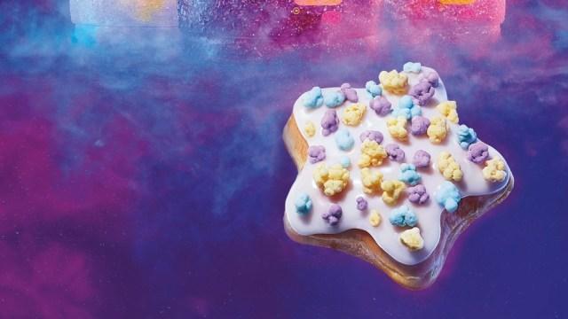 shooting star donut dari Dunkin' Amerika
