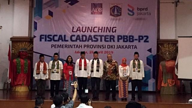 Gubernur DKI Jakarta Launching Fiscal Cadaster PBB-P2