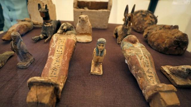 Penemuan makam kuno Shedsu-Djehuty di Luxor, Mesir