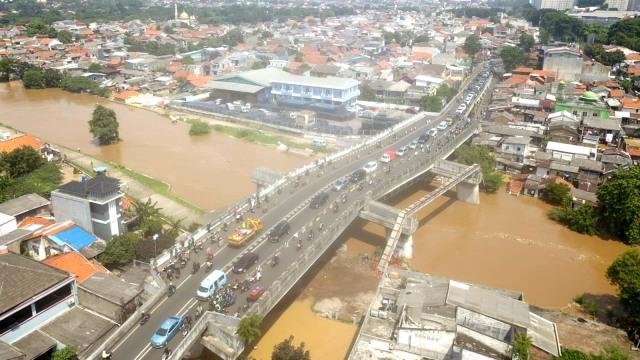 Banjir di Rawajati, Pancoran, Jakarta Selatan
