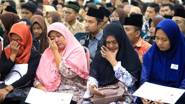 Gubernur Jawa Tengah Ganjar Pranowo, Santunan kepada keluarga Pahlawan Demokrasi
