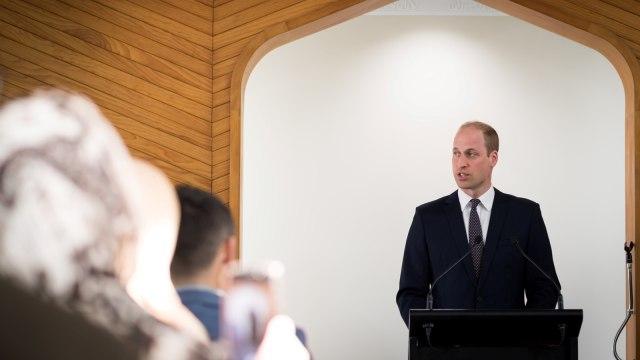 Pangeran William, kunjungi Christchurch, Selandia Baru