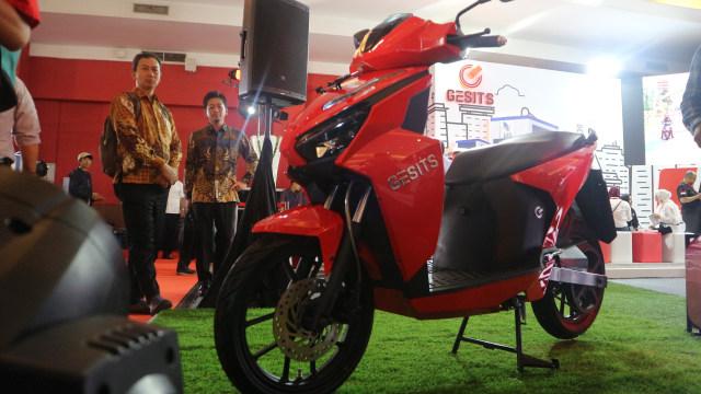 Pabrik Perakitan Skuter Listrik GESITS di Bali Beroperasi 2021 (746160)