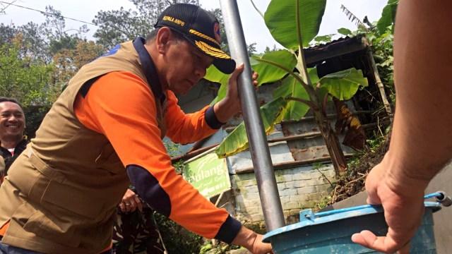 Pelaksanaan Hari Kesisapsiagaan Bencana di Lembang