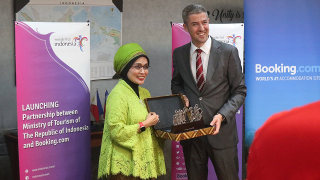 Launching Partnership between Ministry of Tourism of the Republic Indonesia and Booking.com