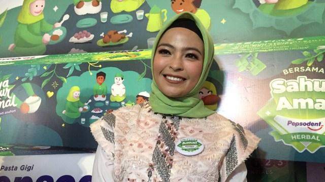 Tantri 'Kotak' di acara Pepsodent Herbal Sahur Amal 2019
