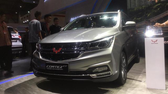 Otomotif, IIMS 2019, Wuling Cortez, mobil baru 2019, mobil baru di iims 2019