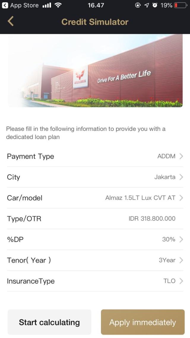 Peluncuran aplikasi MyWuling+