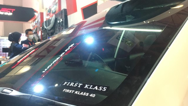 otomotif, kaca film, first klass, tips otomotif,