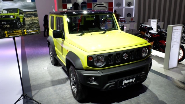 Suzuki Jimny di IIMS 2019