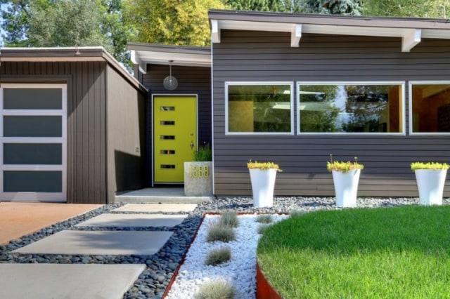 Indahnya 6 Desain Depan Rumah Minimalis Dengan Taman Luas