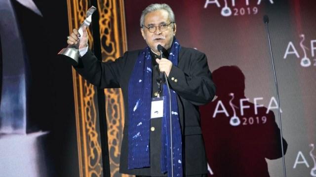 Slamet Rahardjo Dianugerahi Lifetime Achievement Award di AIFFA 2019 (269536)