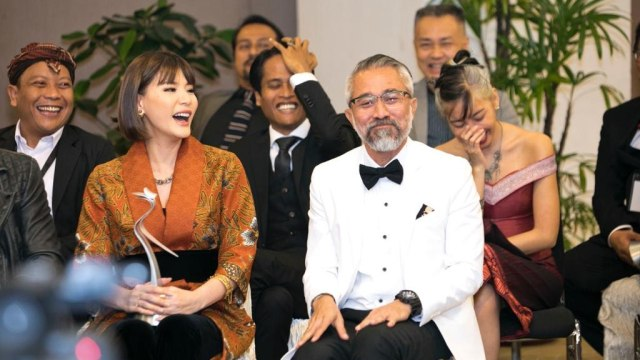 Slamet Rahardjo Dianugerahi Lifetime Achievement Award di AIFFA 2019 (269537)