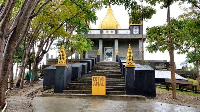 Masjid Walima Emas di Gorontalo, Keindahan Berpadu Nuansa Religi (448852)