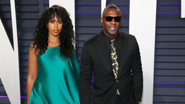 Idris Elba dan Sabrina Dhowre