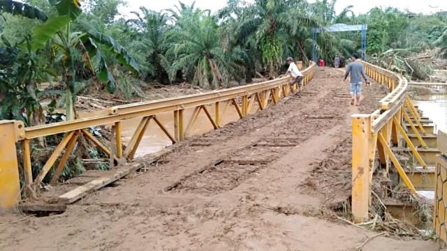 Kondisi Bengkulu usai diiterejang banjir dan longsor