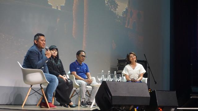 com-Grand Launching Mediv, talkshow bersama Wisnu Dewobroto, Lizzie Parra, dan Honesti Basyir