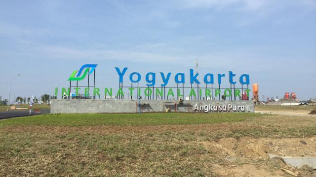 Suasana Bandara Internasional Yogyakarta (BIY).