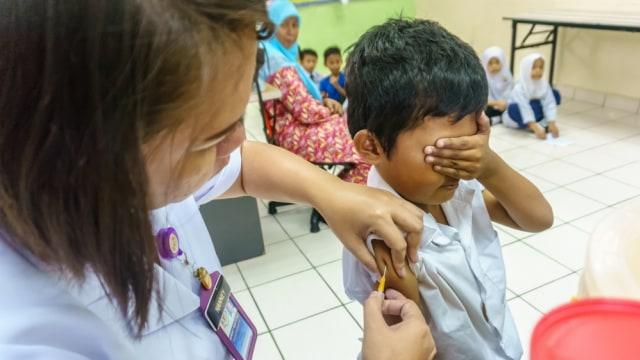 imunisasi, vaksin, imunisasi di sekolah
