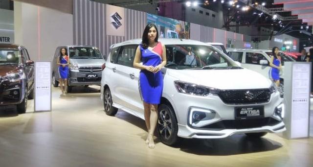 Suzuki Ertiga di IIMS 2019