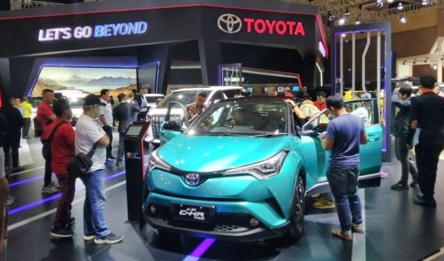 Toyota C-HR Hybrid di IIMS 2019