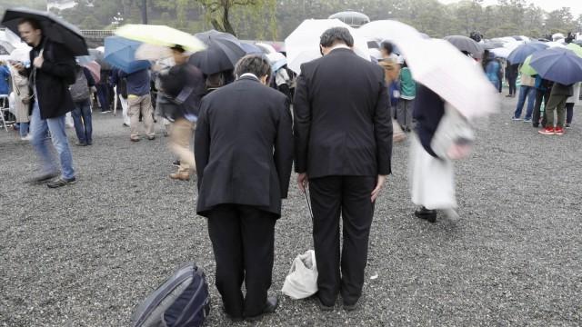 Hari pengunduran diri Kaisar Jepang, Akihito
