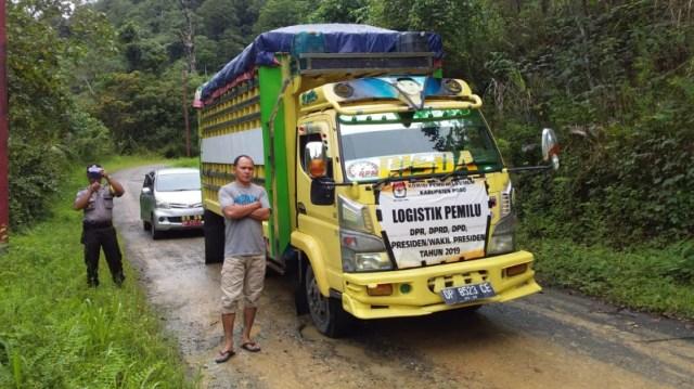 Video: Pendistribusian Logistik Hasil Pemilu di Poso Terhalang Longsor (32266)
