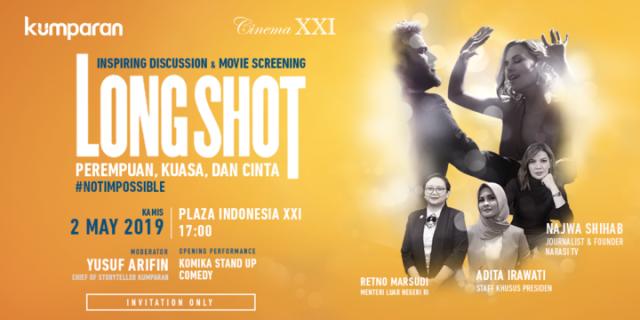 com-Inspiring discussion & movie screening film Long Shot.