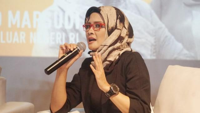 Staf Khusus Presiden, Adita Irawati di XXI Plaza Indonesia, Inspiring Discussion, Long Shot, Plaza Indonesia XXI, Movie Screening