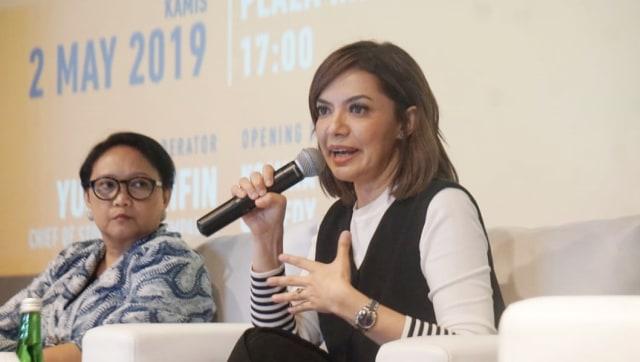 Najwa Shihab di XXI Plaza Indonesia, Inspiring Discussion, Long Shot, Plaza Indonesia XXI, Movie Screening