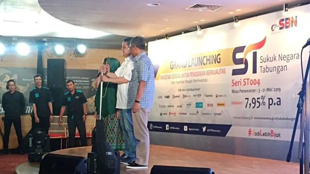 Pembukaan Penawaran Sukuk Tabungan seri ST004 kepada investor individu Warga Negara Indonesia