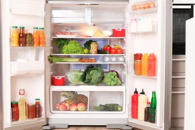 COVID Section 1-Ilustrasi menyimpan makanan