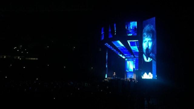 One OK Rock di konser Ed Sheeran, Jumat