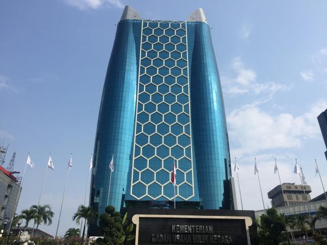 Rini Soemarno Resmikan Gedung Baru Kementerian BUMN - kumparan.com